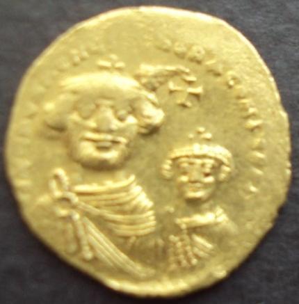 BISANZIO 610-641 solido d´oro Imperatore ERACLIO